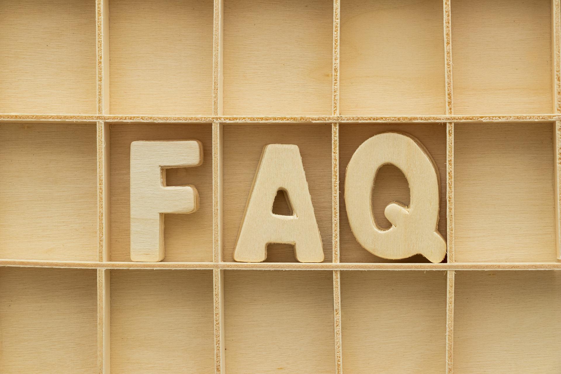 Image de l'article Foire aux Questions